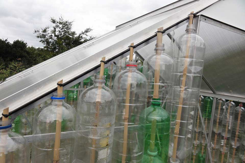 Plastic Bottle Greenhouse How To Build