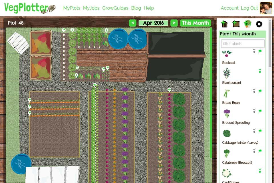 VegPlotter Gardening Tool / RHS Campaign for School Gardening